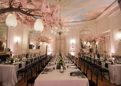 Fay Campbell Events Private Event 60th birthday weekend japanese inspired banqueting dinner
